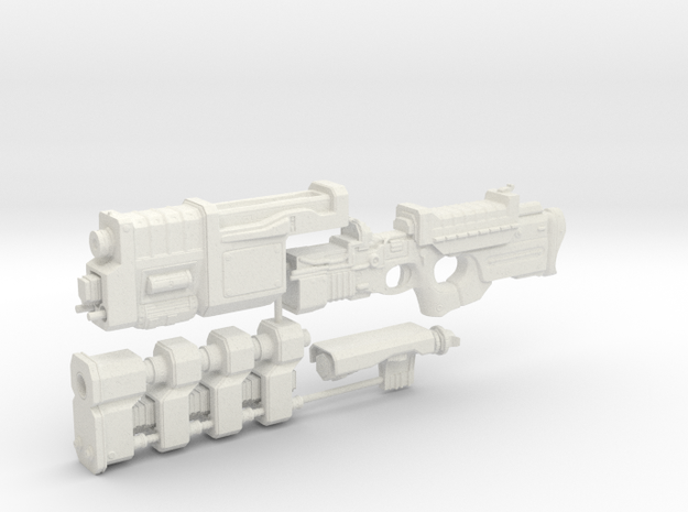 1/6th scale Railgun Extended (4 part kit)