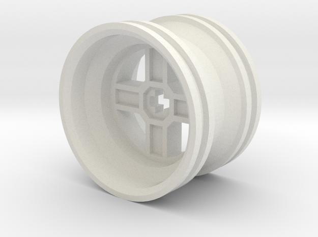 Wheel Design II in White Strong & Flexible