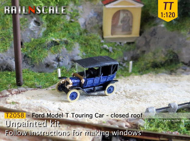 Ford Model T - closed roof (TT 1:120)