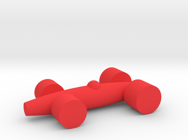 LACORSA Racecar (100% size) in Red Strong & Flexible Polished