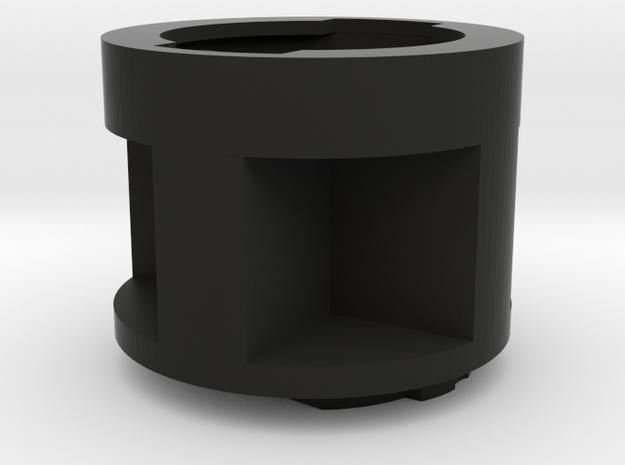 Garmin Edge Quarter Turn  Extension 25mm 1 Inch in Black Natural Versatile Plastic