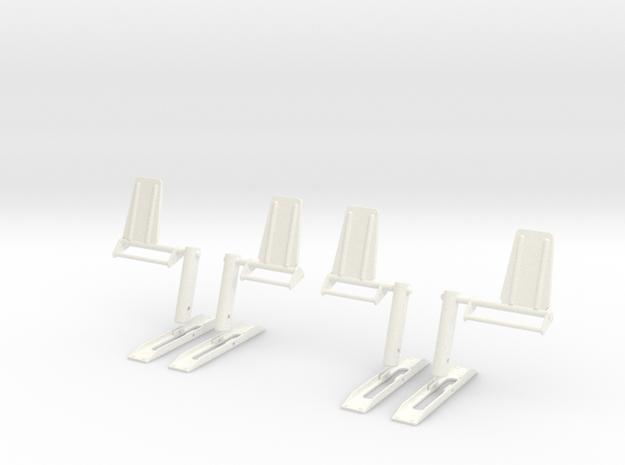 1.5 EC155 PALONNIERS X2 in White Processed Versatile Plastic