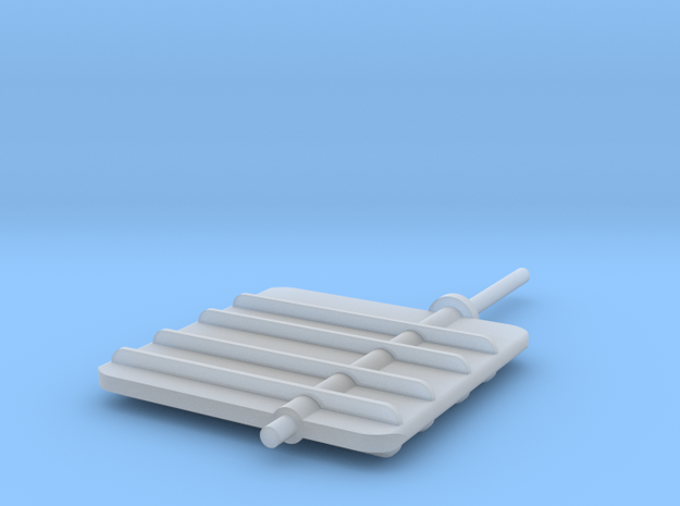 Main Rudder 1-32V2 in Frosted Ultra Detail