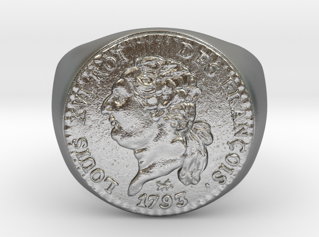 Louis XVI 1793 in Natural Silver