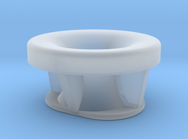Type BC 15mm in Smooth Fine Detail Plastic
