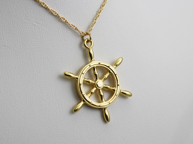 Nautical Steering Wheel Pendant