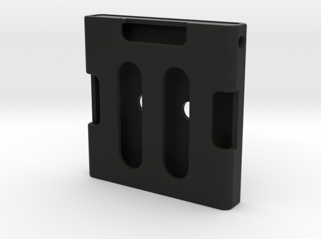 TFA Pilot Shoulder strap front Clip in Black Natural Versatile Plastic