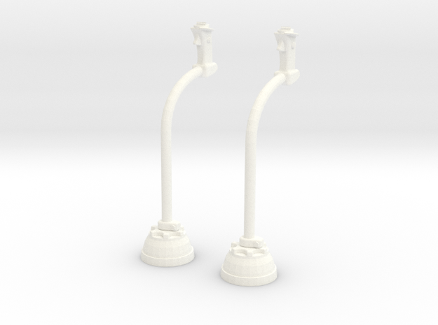 1.4 MANCHE CYCLIQUE LAMA X2 in White Strong & Flexible Polished