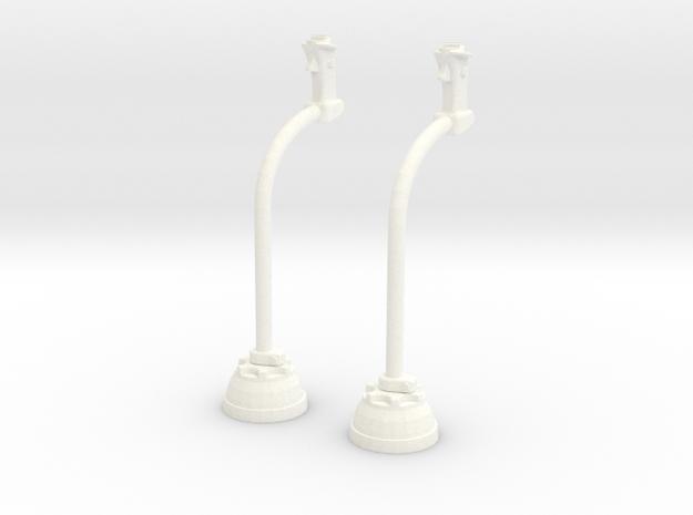 1.4 MANCHE CYCLIQUE LAMA X2 in White Processed Versatile Plastic