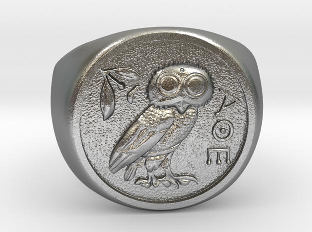 Tetradrachm in Raw Silver