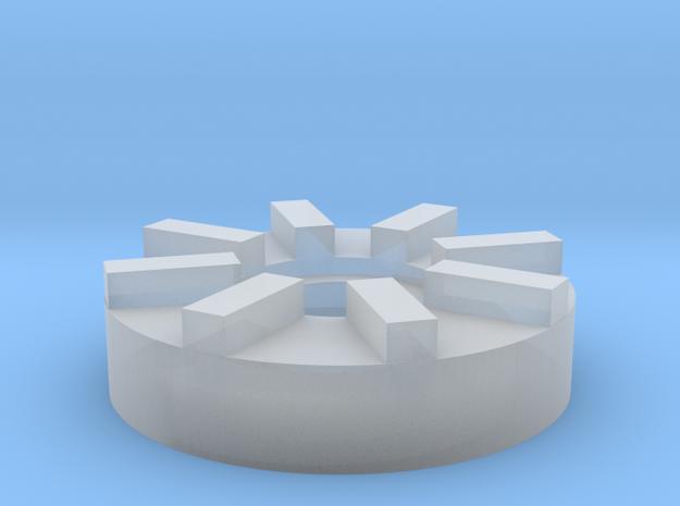 AEP Hopup Adjustment Wheel in Smooth Fine Detail Plastic