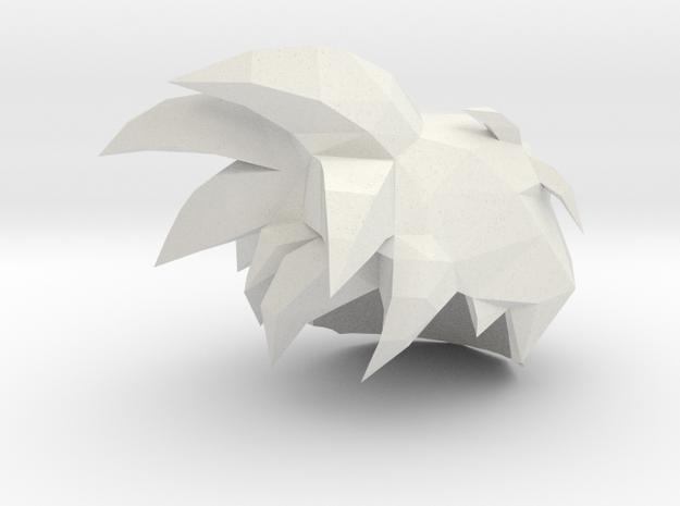 Custom Teen Gohan Inspired MINIMATE in White Natural Versatile Plastic
