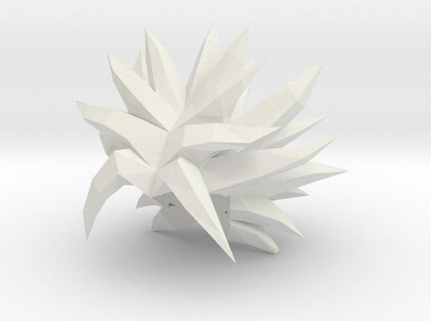 Custom Broly SSj1 Inspired MINIMATE in White Natural Versatile Plastic