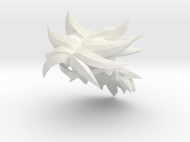 Custom Broly Inspired MINIMATE in White Natural Versatile Plastic