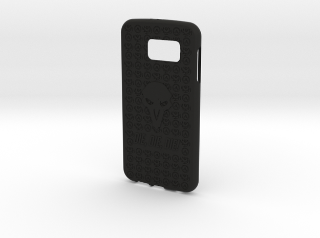 Reaper Galaxy S6 in Black Natural Versatile Plastic