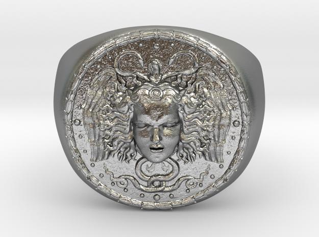 Médusa in Raw Silver
