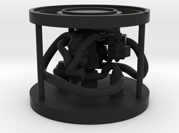 Mug Stand in Black Natural Versatile Plastic