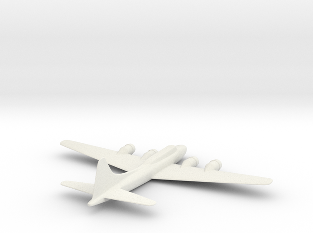 B-17 in White Natural Versatile Plastic
