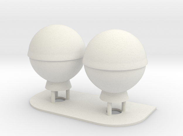1:96 scale SatCom Dome Set 3