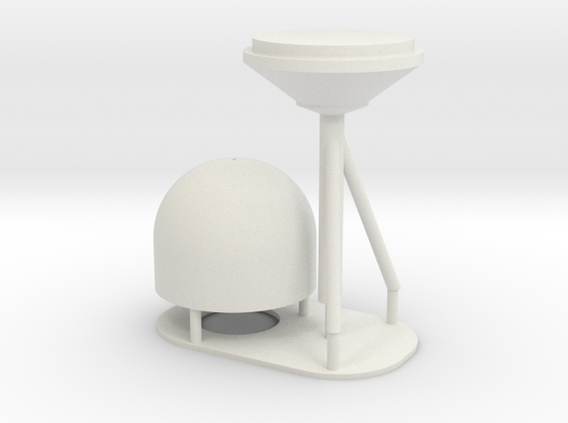 1:96 scale SatCom Dome - with stand