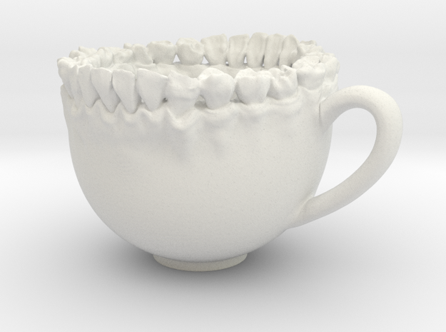 Teeth Tea Cup