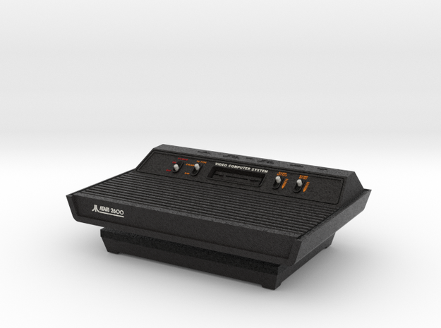 1:6 Atari 2600 (Vader Black) in Full Color Sandstone