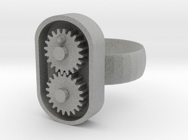 Gear/ring in Metallic Plastic