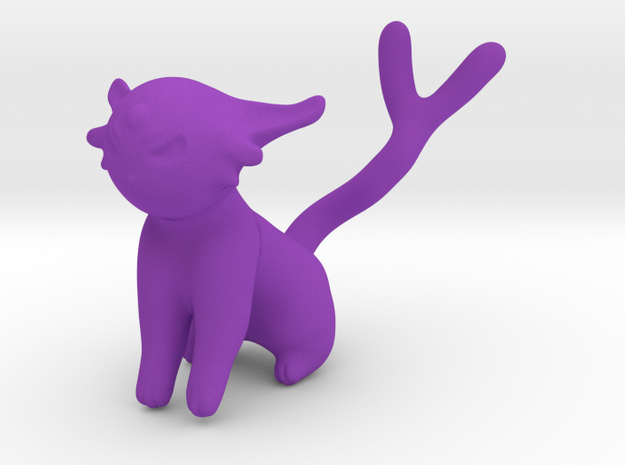 Espeon in Purple Processed Versatile Plastic