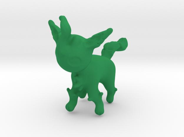 Leafeon in Green Processed Versatile Plastic