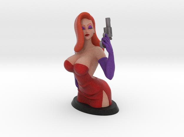 Jessica Bust 10cm in Full Color Sandstone