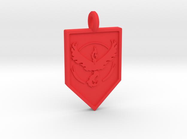 Team Valor Badge Keychain