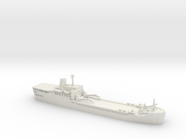 1/700 Falklands Conflict RFA Sir Lancelot LSL in White Natural Versatile Plastic