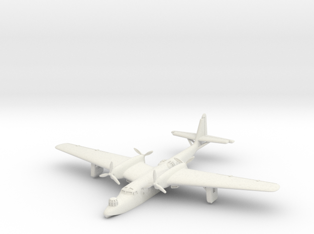 Dornier Do 26 (Resting on water) 6mm 1/285 in White Natural Versatile Plastic