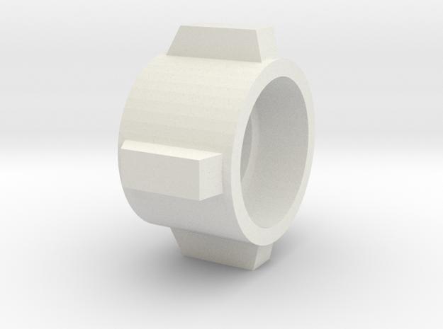 EZRA2.3 in White Natural Versatile Plastic