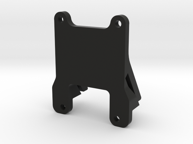QAV 35° GoPro Mount for Modular Mounting System in Black Natural Versatile Plastic