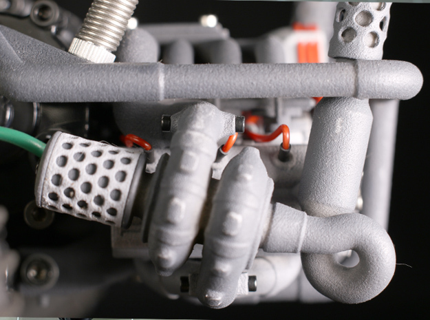 Sand Scorcher Air-filter Meshes in White Processed Versatile Plastic