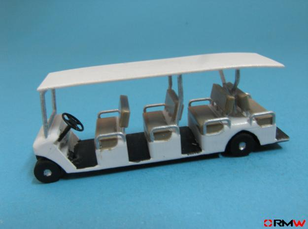 HO/1:87 Buggy 4 seating rows, kit in Frosted Ultra Detail