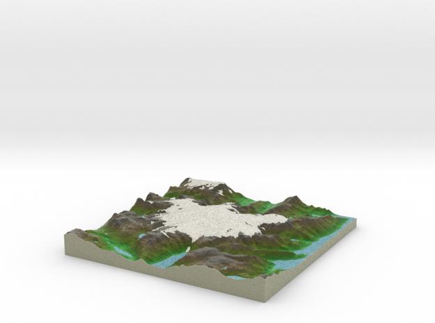 Terrafab generated model Sun Jul 17 2016 12:49:43  in Full Color Sandstone
