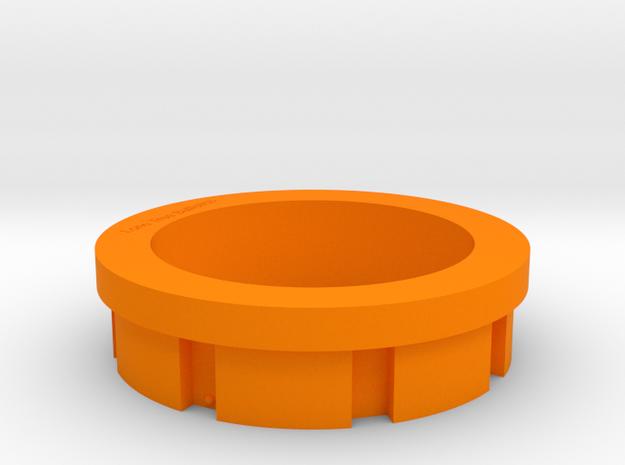 Savage Barrel Nut Wrench Protector in Orange Processed Versatile Plastic