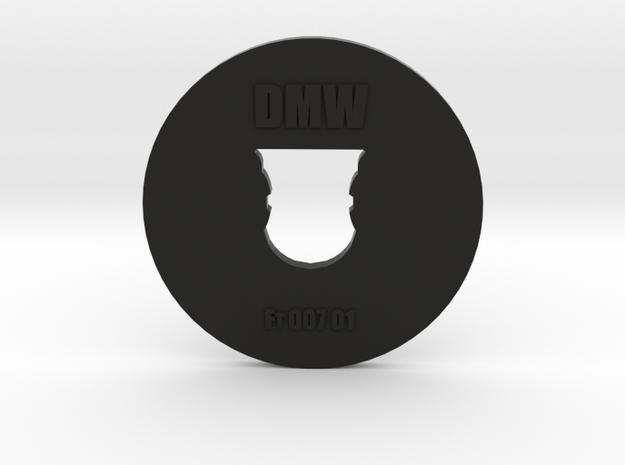Clay Extruder Die: Footer 007 01 in Black Natural Versatile Plastic