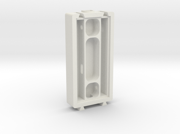 Food Module in White Natural Versatile Plastic