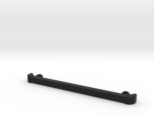 Front bumper D90 D110 Gelande 1:10 in Black Natural Versatile Plastic