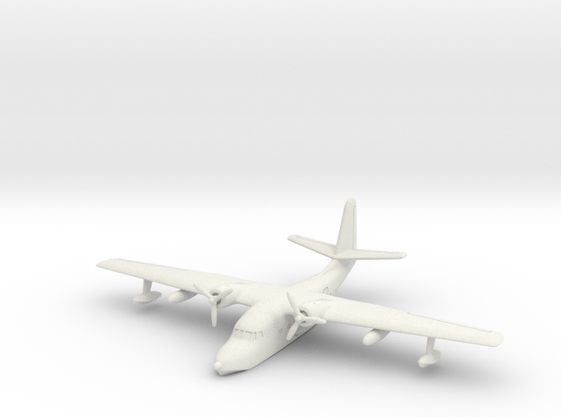 Grumman HU-16 (SA-16) Albatross (on water) 1/285 in White Natural Versatile Plastic