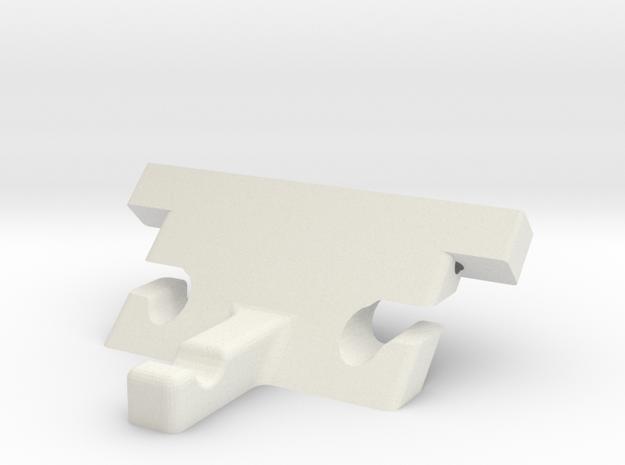 Tail Block V2 in White Strong & Flexible