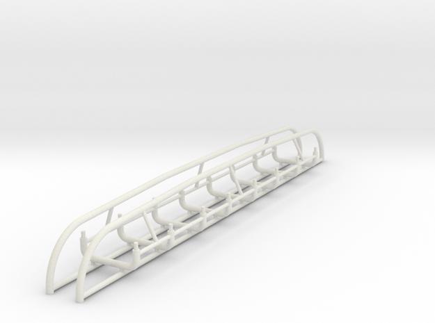 1/16 M7 Priest Handles. in White Natural Versatile Plastic
