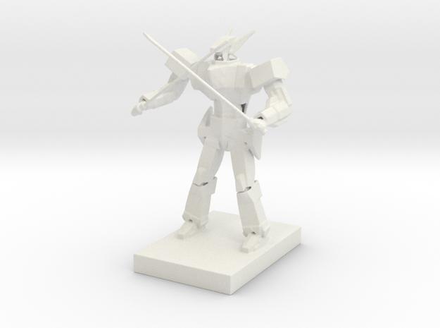Anime style mecha in White Natural Versatile Plastic