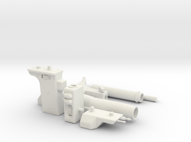 Supertrooper/Pre-Pro #1 Sling Gun in White Natural Versatile Plastic