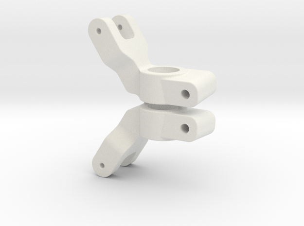 SLASH 2WD - 5 DEGREE REAR HUB CARRIER in White Natural Versatile Plastic