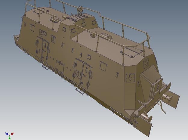 1-50 Improved K-Wagen For BP-42 3d printed