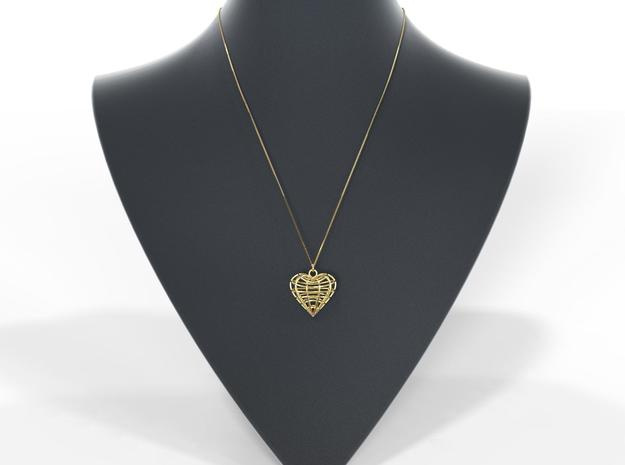 Primo amore in 18k Gold Plated Brass